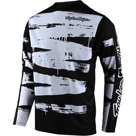 Troy Lee Designs Sprint Jersey Youth, brushed black/white